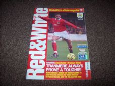 Bristol City v Tranmere Rovers, 1998/99